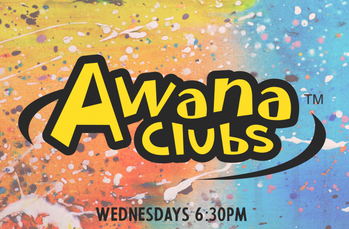Awana on Wednesdays!